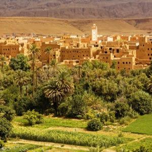 Bivouac au Maroc